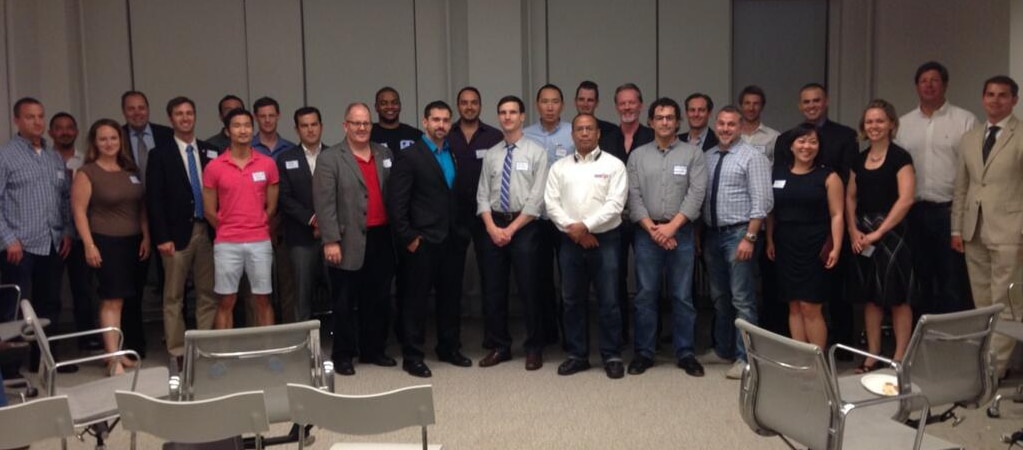 Military veterans gathered in NYC for Vetcap, a new national series of financial workshops sponsored by VetsinTech.